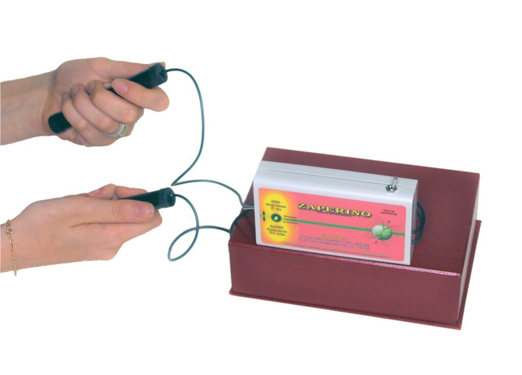 Zapper Zaper Zaperino frekvenčna terapija za uničevanje virusov, bakterij, gliv in parazitov